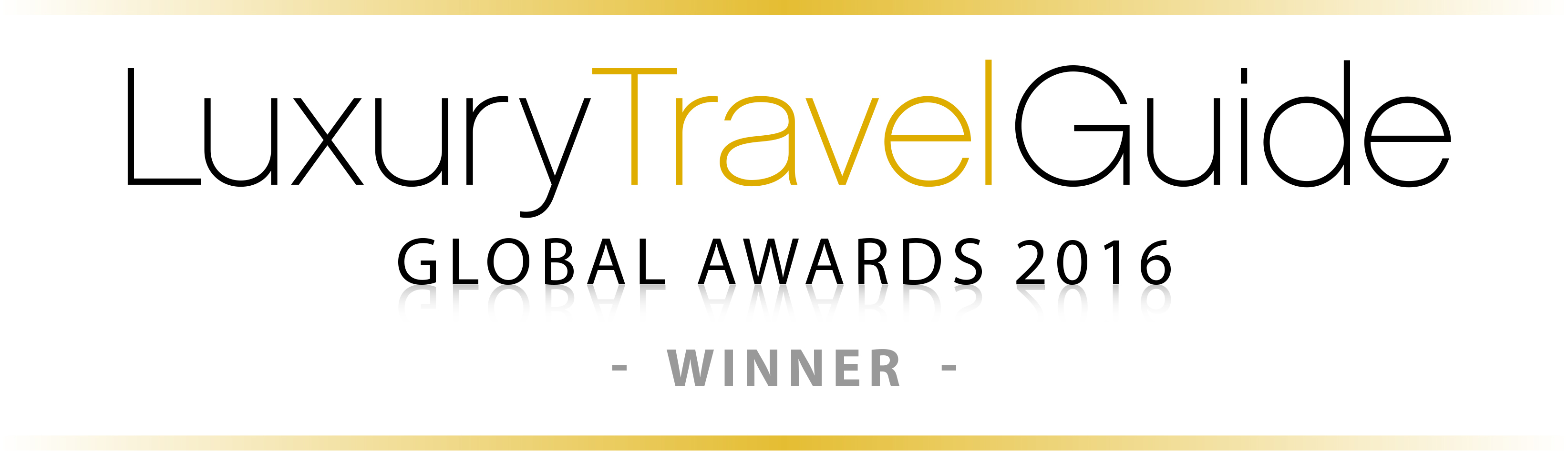 LUXURY TRAVEL GUIDE - WINNER 2016